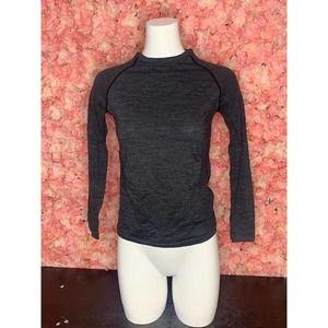 Saucony Gray Long Sleeve Medium Shirt
